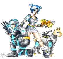 Jet Force Gemini by AkaiSoul