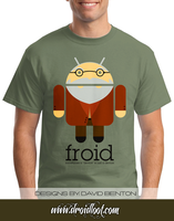Android Logo Tee: Froid by DesignBomb