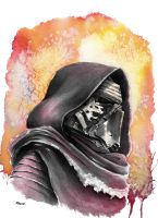 Kylo Ren - version2 by MikeKretz