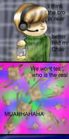 PEWDIEPIE and mr chair has problems. by HeartRoyali