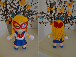 Sailor V plush by Liis-Plush