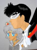 SAILOR MOON AND TUXEDO MASK 2 by Lucyy