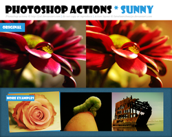 Photoshop Action :: Sunny :: Redux by Jiel