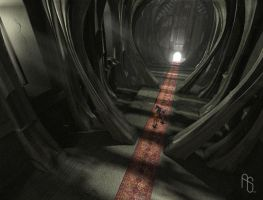 Throne room 2, video game by aaronsimscompany