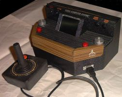 Portable Atari VCS 2600 by Invidscrim