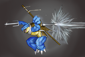 Teenage mutant Ninja Blasturtle!!!! by Chenks-R