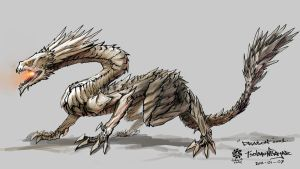 Drakon concept by HappyMorningStar