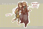 Merry, Pippin, and Boromir by haleyhss