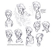 Lucas Sketches by lovely-iridescence