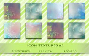 8 Icon Textures - Pack ONE by XxShipuxX