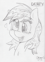 Derpy Sketch by CookieSkoon
