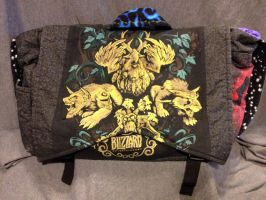 WoW Druid Bag: Front by garnetbear