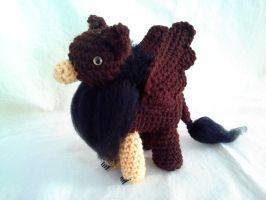 Dark Brown and Black Gryphon by hollyann