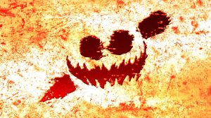 Knife Party Haunted House Wallpaper by MonsterPon3