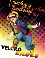 Velcro Shoes by Love2B