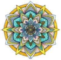 Mandala 26 July 2014 by Artwyrd