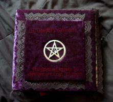 My Grimoire or Book of Shadows by TheSpyderDuster
