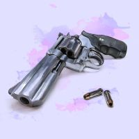 Pastel Weapon Series: Handgun by enixyy