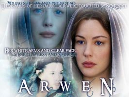 LotR Wallpaper - Arwen by smalls89