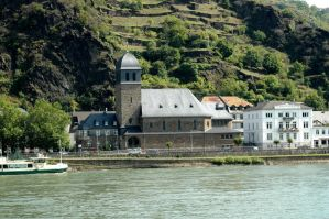 Church near Mosel river by BlokkStox
