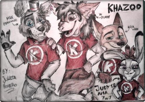 competition: Khazoo by JuliArt15