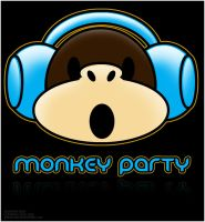 Monkey Party by S3R0