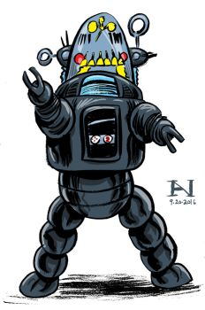 Robby the Robot by IanJMiller