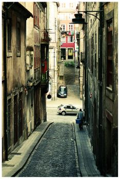 Porto's street by thanhdad