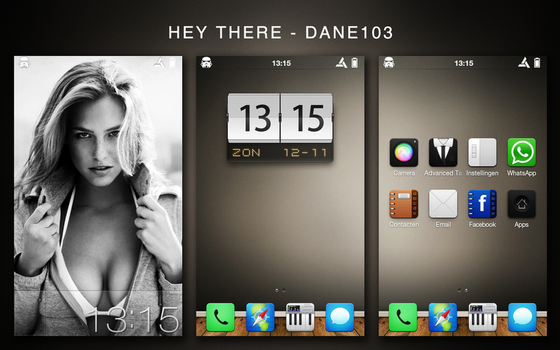 HTC Desire - Hey there by Dane103