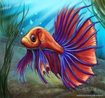 Siamese Fighting Fish by soul71
