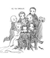 All You Draculas by baronpluto