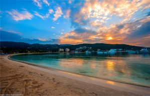 Sunset at Ocho Rios by lizzys-photos