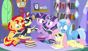 Princess Twilight's Book Club by dm29