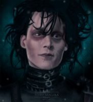 Edward Scissorhands by MaryMagika