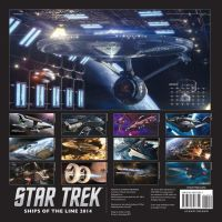 Star Trek: Ships of the line 2014 Calendar by Casperium