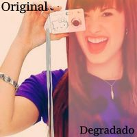 Degradade Effect Demi Lovato by Annuchi-Editions