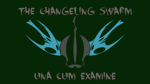 The Flag of the Changeling Swarm by PilotSolaris