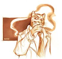 Jam: Blacksad by IriusAbellatrix