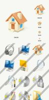Vista bitmap icons by Andy3ds