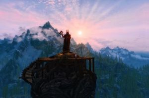 Skyrim - The Tower II by Riot23
