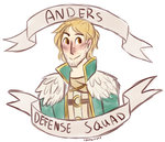 Anders Defense Squad by MageMina