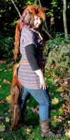 Chestnut Horse Mane and Tail Set by lupagreenwolf