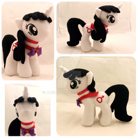OC Sailor Mars My Little Pony Plush by Aleeart7