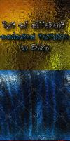 Set of different colored textures by DiZa-74