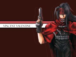 Vincent Valentine by rayv36