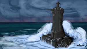 207 - Lighthouse by Shasel