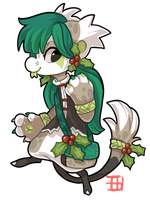 334 - European Holly by TheKingdomOfGriffia