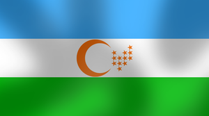 Alternate flag of Uzbekistan by AY-Deezy