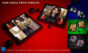 Slide Puzzle Photo Template by ryan-mahendra