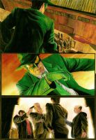 Green Hornet - Page test 3 by donbarata